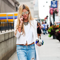 New York Fashion Week SS15: Street Style